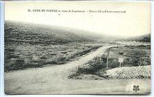 CP 55 MEUSE - Côte du Poivre et route de Louvemont - Guerre 14-18