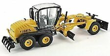 New Holland F156.7A Grader with Plough 1/87th Scale Yellow/Black Tracked 48 Post