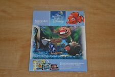 The Wonderful World of Disney Fabric Art Finding Nemo Tank Gang 2006 NEW