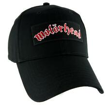 Motorhead Lemmy Kilmister Hat Baseball Cap Heavy Metal Ace of Spades Rock N Roll