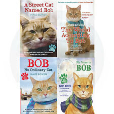 James Bowen Bob Cat Collection,The World According 4 Book Set (My Name is Bob)