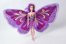 Mattel Barbie Fairy Tastic Purple/Blue Princess Doll Puppe Fee lila