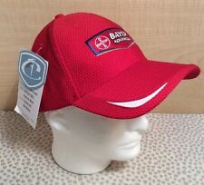 Cap America Mesh Golf Hat - Red Bayer Advance - Moisture Wicking & UV Protection