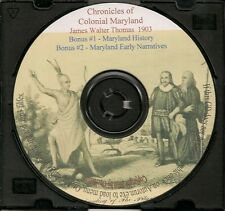 Chronicles of Colonial Maryland - MD Genealogy