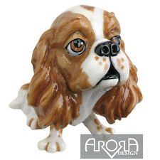 Little Paws Trudi Cavalier King Charles Spaniel Figurine Dog Lovers Gift Boxed