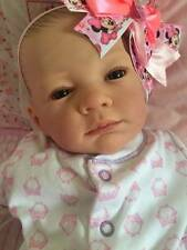 Made To Order Stunning Reborn Baby Girl Anna Newborn Child Friendly