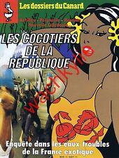 Les dossiers du canard n°59 du 04/1996 Antilles Polynésie DOM TOM Réunion