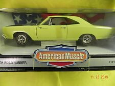 1969 Plymouth Roadrunner 1:18 diecast Collector's Edition 1993-7368