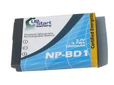 Battery for Sony DSC-T90, DSC-T200, DSC-T75, DSC-TX1L, DSC-T2/W, DSC-T90S
