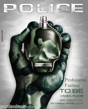 Police Profumi To Be Camouflage Eau de Toilette ml.125 4.2 Fl.Oz Spray