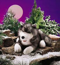 *NEW* PLUSH SOFT TOY Folkmanis 2171 Timber Wolf Timberwolf Full Body Hand Puppet