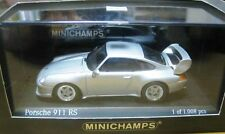 ULTRA RARE MINICHAMPS KYOSHO PORSCHE 911 993 RS SILVER 1:43 1 OF 1008 OBSOLETE