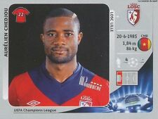 N°411 CHEDJOU # CAMEROON LILLE LOSC CHAMPIONS LEAGUE 2013 STICKER PANINI