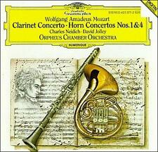 DAVID JOLLEY  HORN - Mozart: Clarinet Concerto; Horn... CD NEW/ STILL SEALED