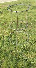 TALL COMMERCIAL GRADE HANDMADE ANTIQUE STYLE METAL HERBACEOUS PLANT SUPPORT