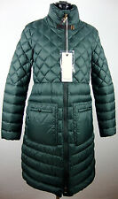 HENRY COTTON´S Daunenmantel Parka Damen Coat Jacke Grün Gr.38 NEU mit ETIKETT