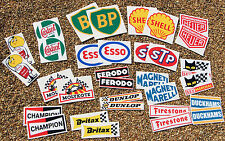 Coche clásico rally/race enorme 32 Sticker Decal Set Mini Cooper, Morris, Mg Austin