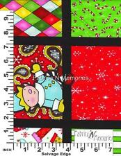 One Crazy Christmas Eve Fabric F890 Henry Glass BY THE HALF YARD