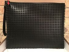 CHRISTIAN LOUBOUTIN PETER POUCH BLACK LEATHER (SOLD OUT EVERYWHERE)