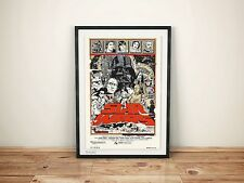 Tyler stout Star Wars Trilogy - A3 Very Rare Poster Print Set. Mondo. FREE P&P