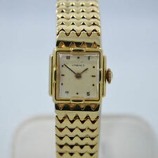 Vintage Longines Solid 14K Yelllow Gold Ladies Manual Wind Watch