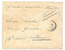 AC126 1897 France Military Forces Overseas *LANGRES* Cover