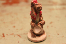 Antique Chalkware Circus Monkey Adorable Small Figure Very Old Primitive Rare!