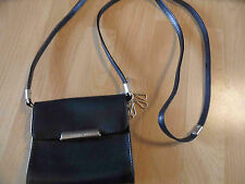 MANDARINA DUCK Hera ganz kleine Leder Handtasche Crossover schwarz TOP BI216