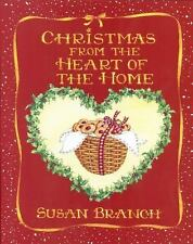 Christmas from the Heart of the Home Book  Susan Branch 1990 Hardback Recipes