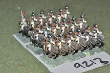 15mm napoleonic french cavalry 18 figures (9213) metal painted