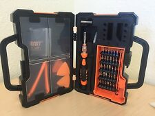 JAKEMY 44in1 CR-V Screwdriver Bit Set Repair Kit Samsung iPhone Repair Tool Set