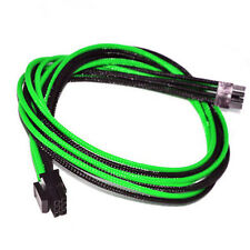 6pin pcie 30cm Corsair Cable AX1200i AX860i 760i RM1000 850 750 650 Green Black