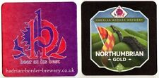 UK Beer Mat /Coaster - Hadrian Border Brewery - Newcastle - Northumbrian Gold