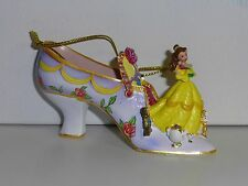 RARE Disney's SHOE ORNAMENT Collection - BELLE from BEAUTY AND THE BEAST