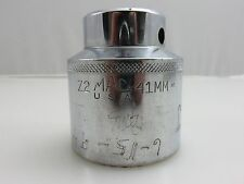 """MAC TOOLS Z2 Huge 41mm Chrome Socket 3/4"""" Drive 12 Point  Made In USA"""