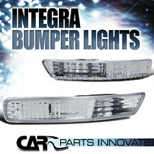 Acura 98-01 Integra Front Bumper Lights Turn Signal Parking Lamp Clear