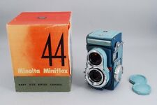 【Rare! w/Box】 Minolta Miniflex TLR Camera w/ Rokkor 60mm f/3.5 From JAPAN #1894