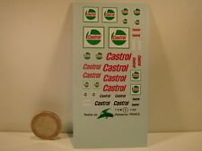 "DECALS 1/43 PETROLIER ""CASTROL"" - VIRAGES  T2"