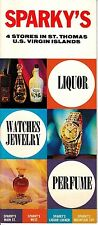 Sparky's 4 Stores in St Thomas US Virgin Islands Liquor Watches Prices Booklet