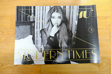 IU Vol. 3 - Modern Times (Normal Edition) *Official POSTER* KPOP