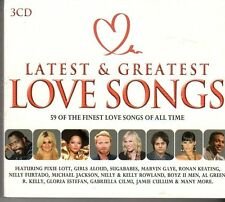 (FD411B) Latest & Greatest Love Songs, 59 tracks - 3 CDs - 2012 CD Box Set