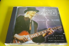 Johnny Winter Johnny B. Goode CD 1997 Blues