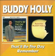 BUDDY HOLLY - THAT'LL BE THE DAY/REMEMBER  CD NEU