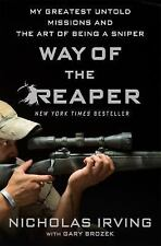 Way of the Reaper Book~Greatest Missions~Art of Snipercraft~Iraq War~NEW HC