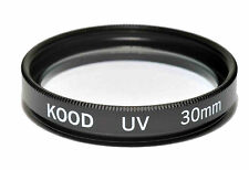Kood Optical Glass UV Filter 30mm Made in Japan