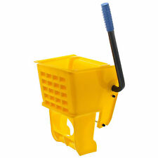 Wet Mop Bucket Replacement Wringer - Yellow 36 Quart - Commercial