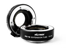 Viltrox DG-1N Macro Extension Tube 10mm+16mm Adapter Kit for Nikon 1 J1 J2 V1