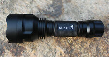 ShineFire C8 Cree XPE LED 18650 Waterproof Flashlights 200-400 Meters 5 Modes