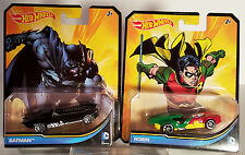 Hot Wheels Batman & Robin 1:64 Diecast 2013 DC Comics, New Mint wwvintage5star