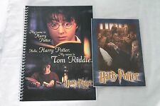 Rare Harry Potter and the Philosopher's Stone/Chamber of Secrets Notebooks 90's
